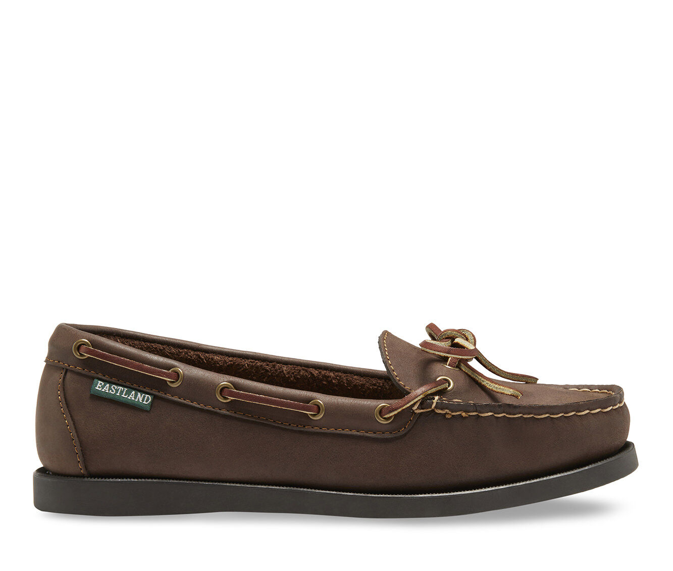 Women's Eastland Yarmouth Boat Shoes Bomber Brown