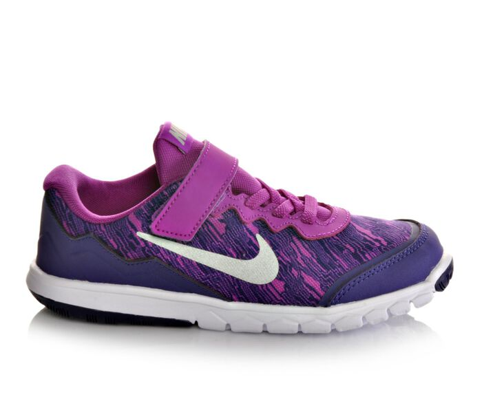 Girls' Nike Flex Experience 4 Print 10.5-3 Running Shoes