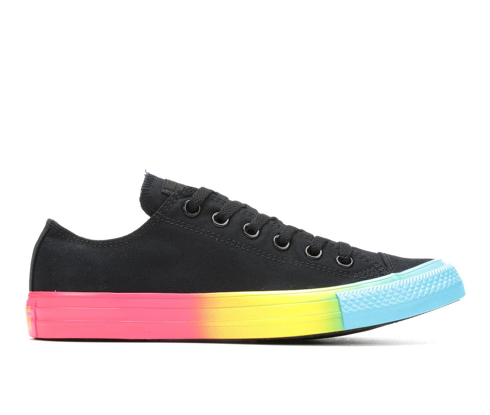 dca52bd50e Men's Converse Chuck Taylor All Star Rainbow Ice Ox Sneakers   Shoe ...