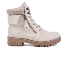 Women's Cliffs by White Mountain Mandy Lace-Up Boots