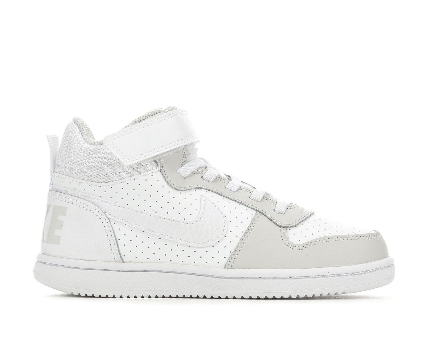 nouveau produit f3d28 92b06 Girls' Nike Little Kid Court Borough Mid Basketball Shoes