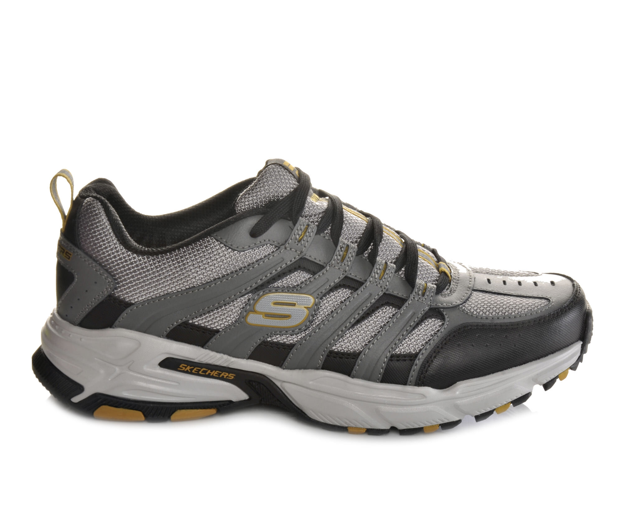 black sketcher sneakers