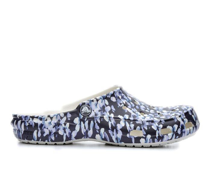 Women's Crocs Freesail Graphic Mules