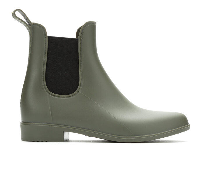 Women's Capelli New York Matte Opaque Chelsea Rain Boots