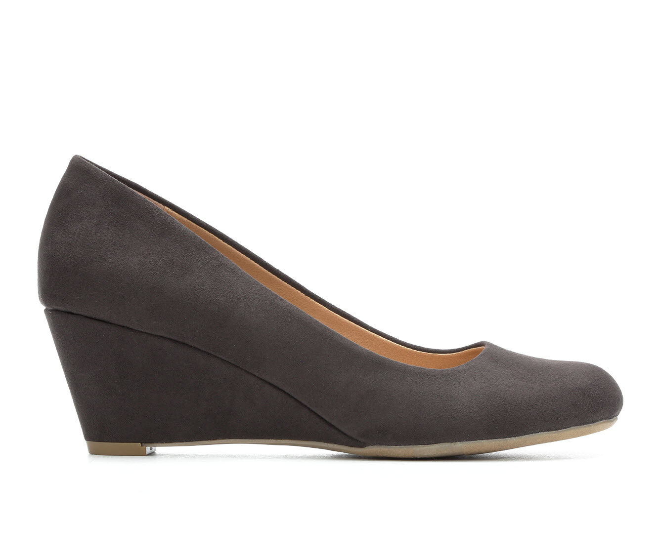 Women's David Aaron Traci Wedges Grey