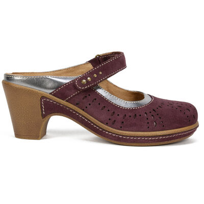 Women's White Mountain Gull Mules