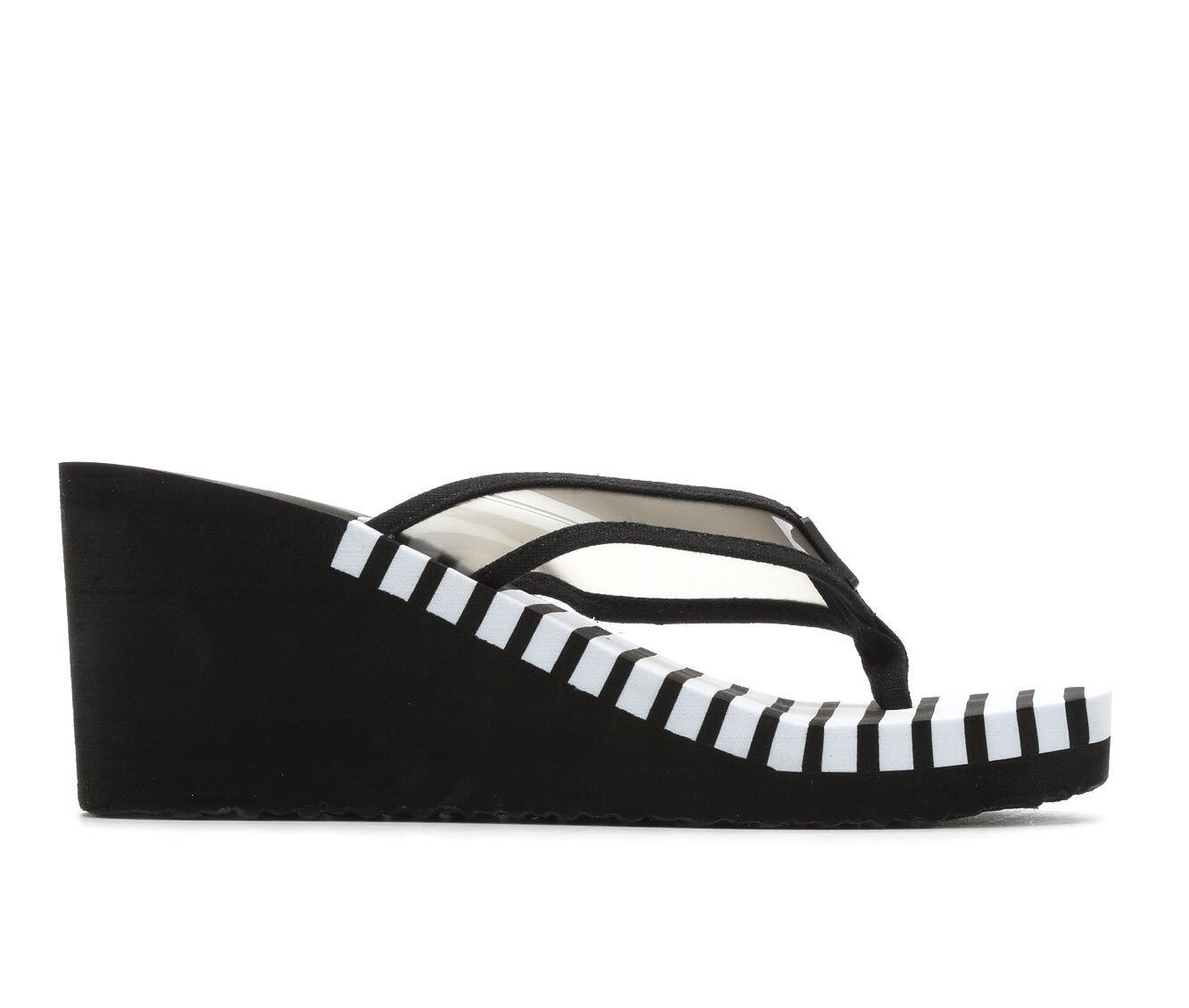 genuine online Women's Nautica Tinley Sandals Black