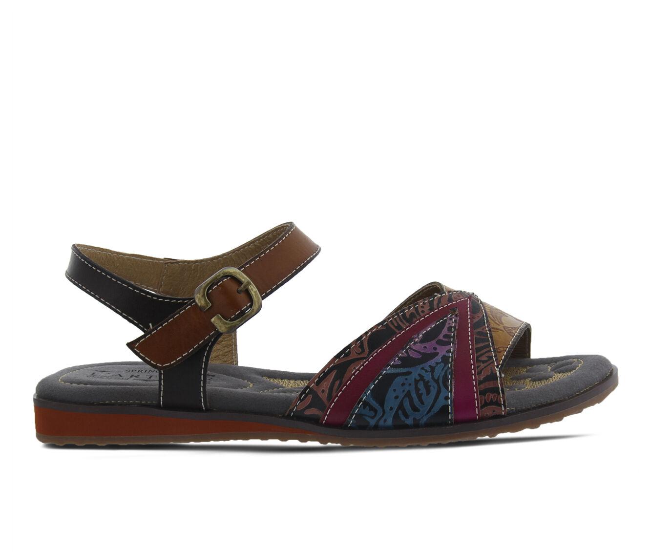 purchase cheap new Women's L'ARTISTE Goldenite Sandals Camel Multi