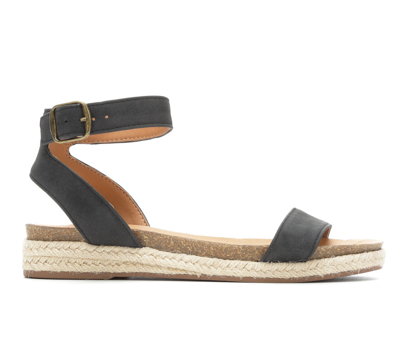 Women's City Classified Tacoma Flatform Sandals Black