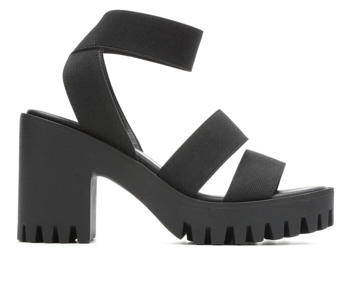Women's Madden Girl Soho Heeled Platform Sandals