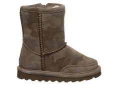 Girls' Bearpaw Toddler & Little Kid Brady Zipper Winter Boots