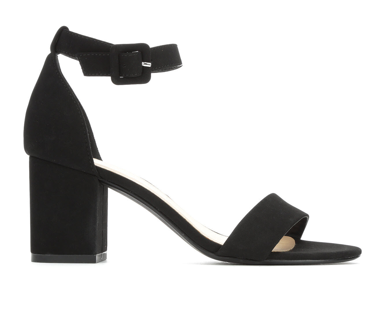 Women's City Classified Cake Heeled Sandals Black