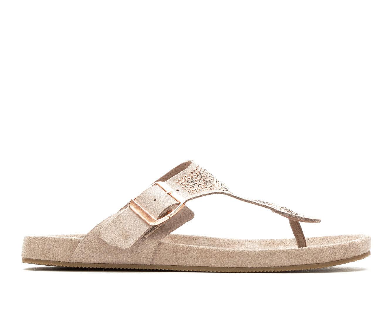 Sophisticated Women's Makalu Sabana Footbed Sandals Mink
