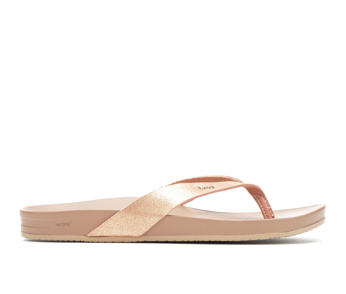 Women's Reef Cushion Bounce Court Sandals Rose Gold