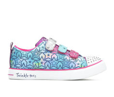 Girls' Skechers Little Kid & Big Kid Sparkle Dust Light-Up Sneakers