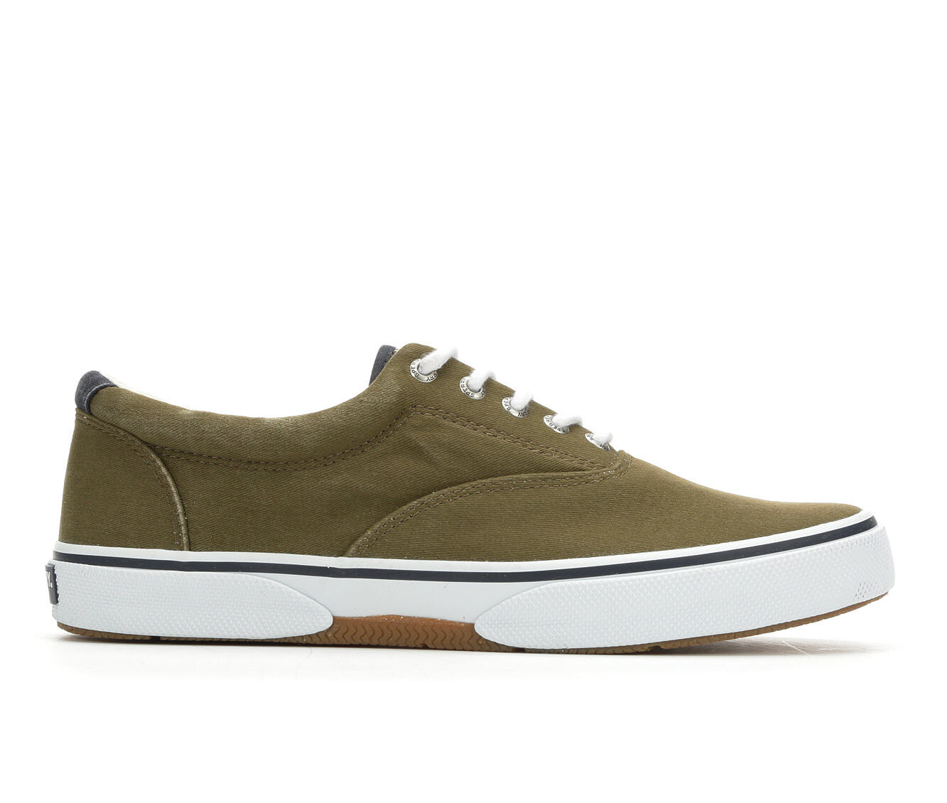 Men's Sperry Halyard CVO Saltwash Casual Shoes Dark Olive