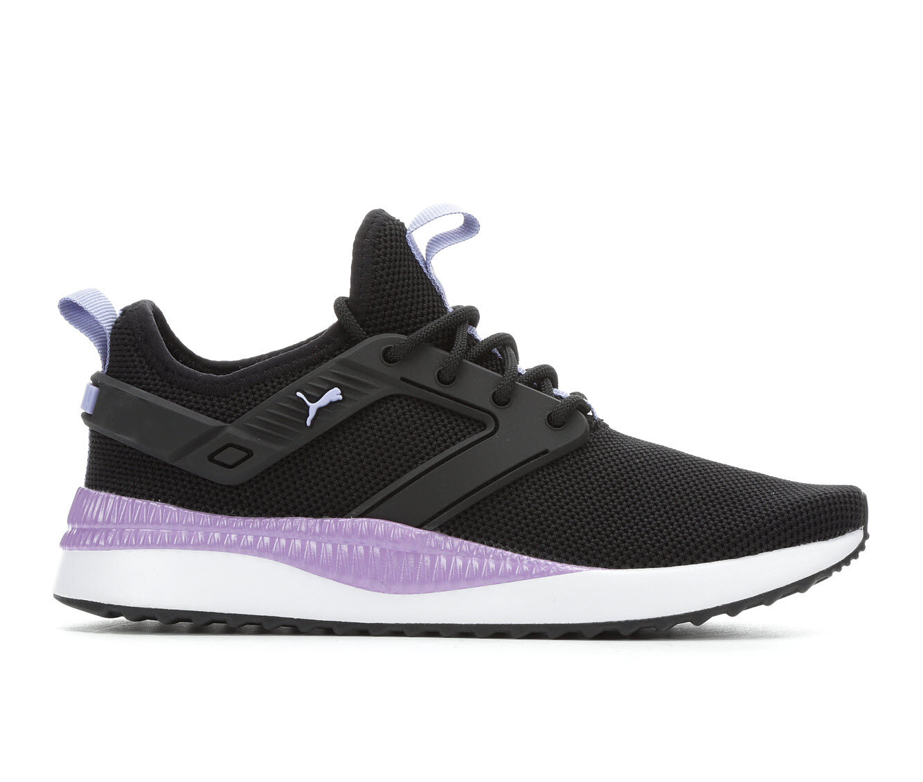 Women's Puma Pacer Next Excel Sneakers Black/Purple/Wh