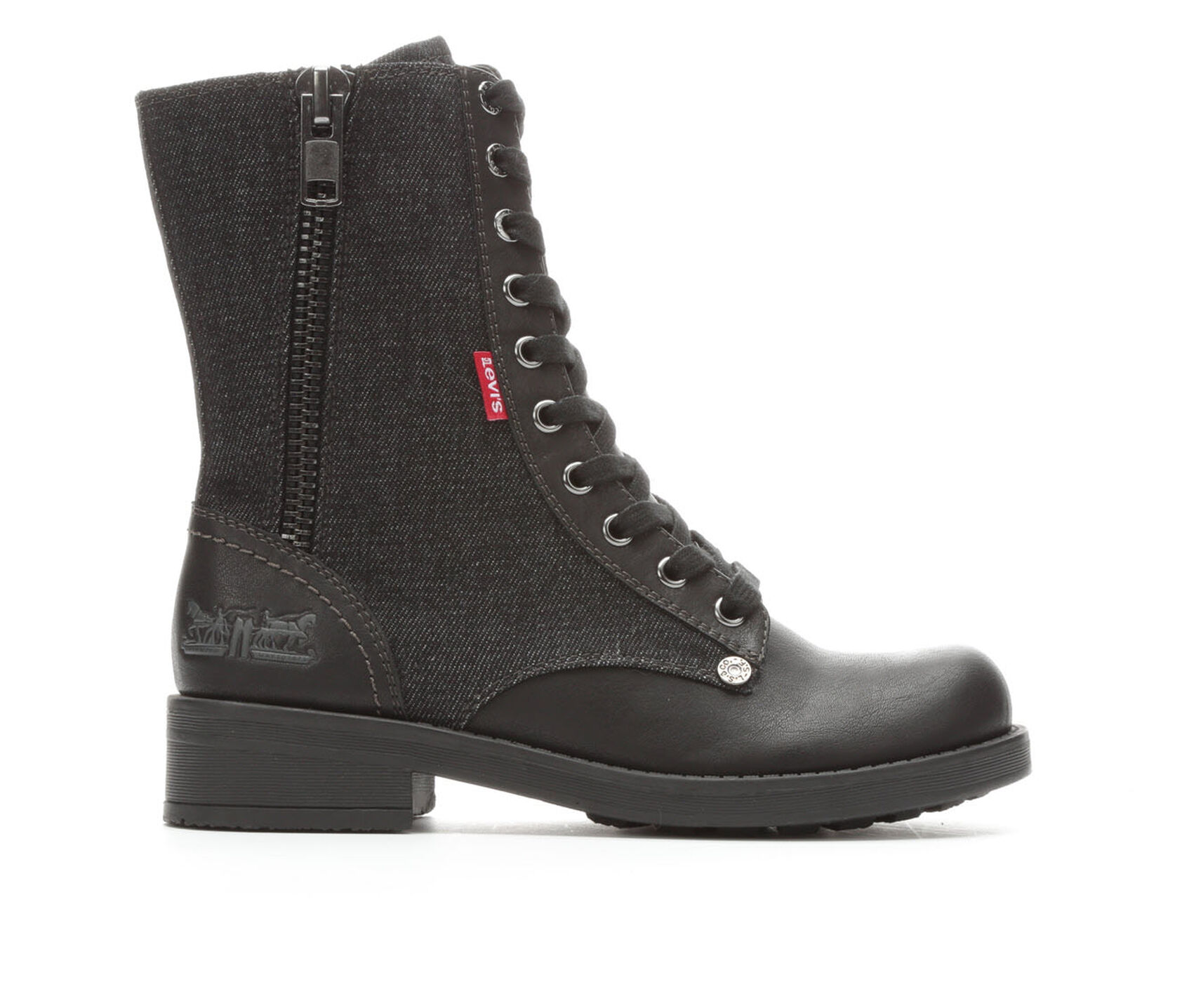 women 39 s levis ariana lace up boots. Black Bedroom Furniture Sets. Home Design Ideas