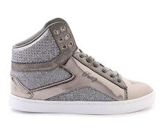 Women's Pastry Pop Tart Glitter High Top Sneakers