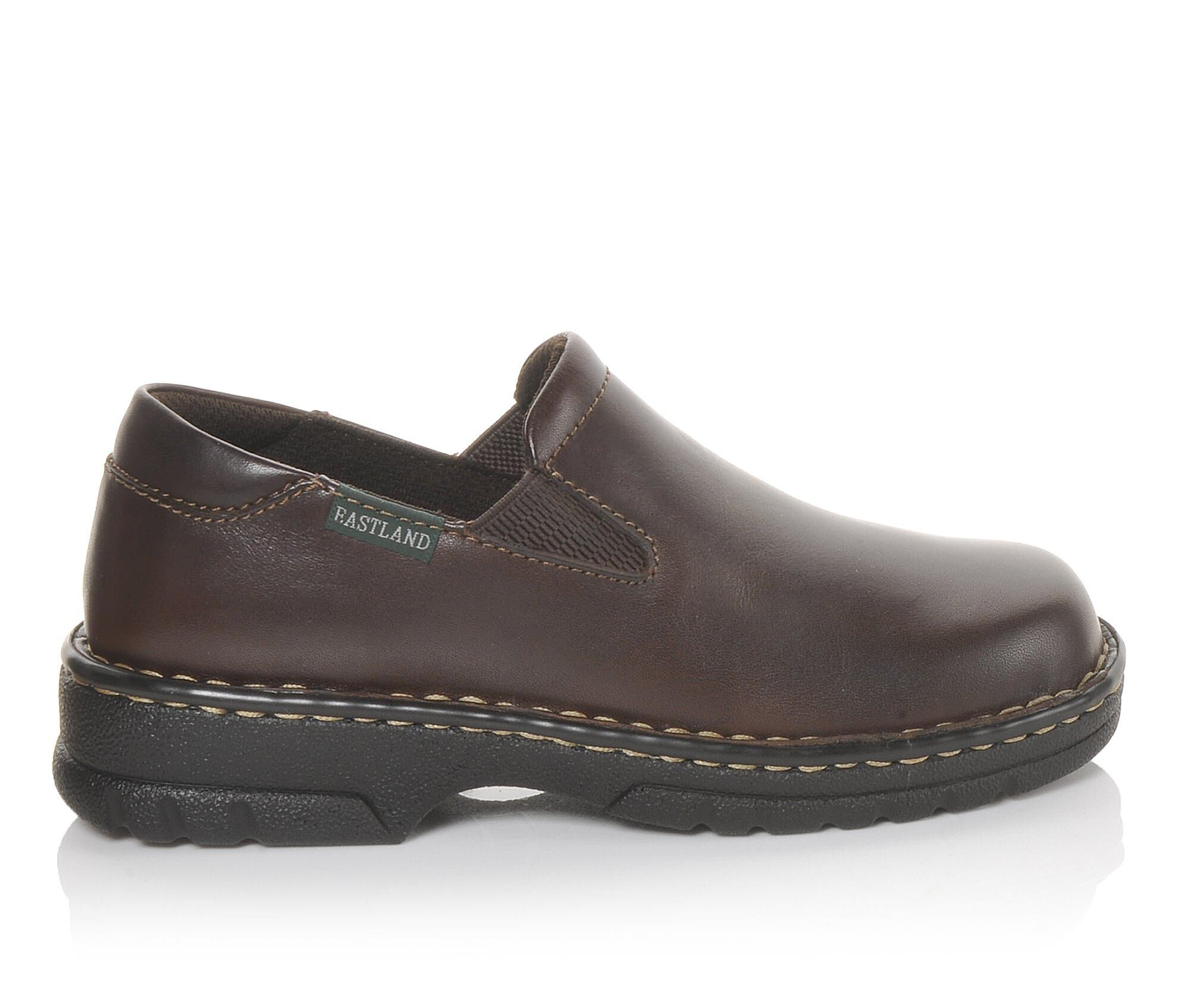 Women's Eastland Newport Clogs Brown