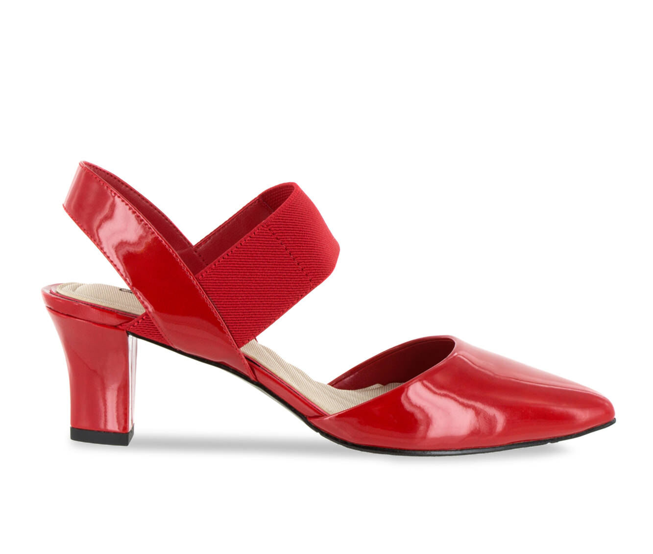 Women's Easy Street Vibrant Shoes Red Patent