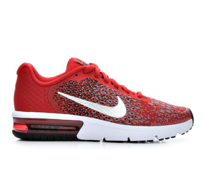 Boys' Nike Air Max Sequent 2 3.5-7 Running Shoes