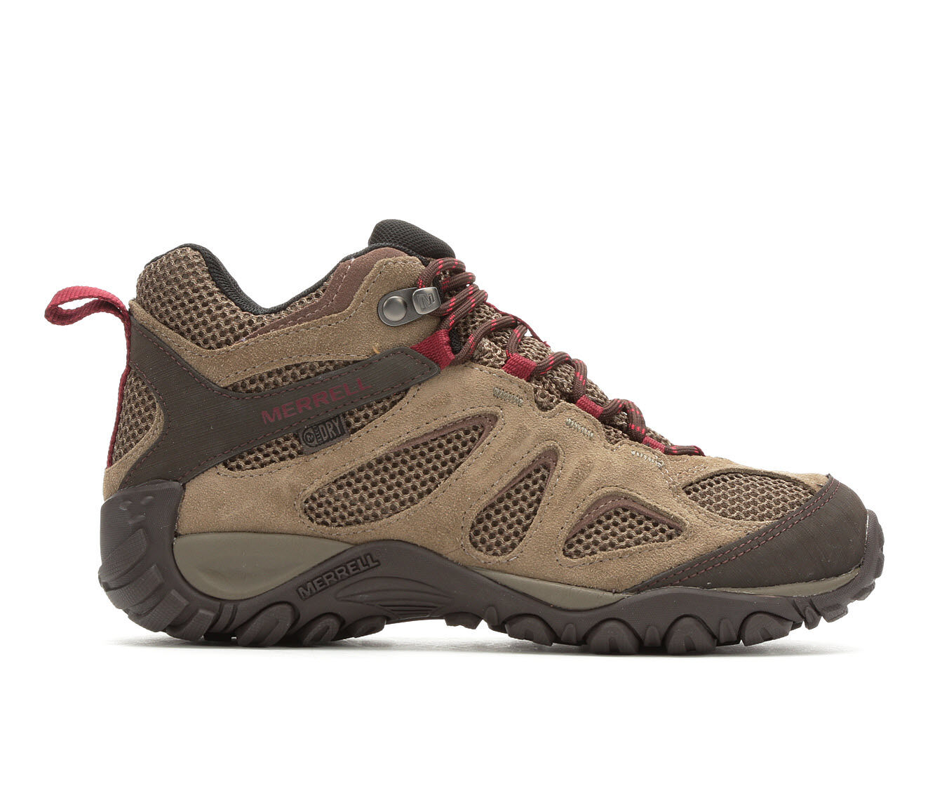 Women's Merrell Yokota 2 MID Waterproof Hiking Boots Brindle