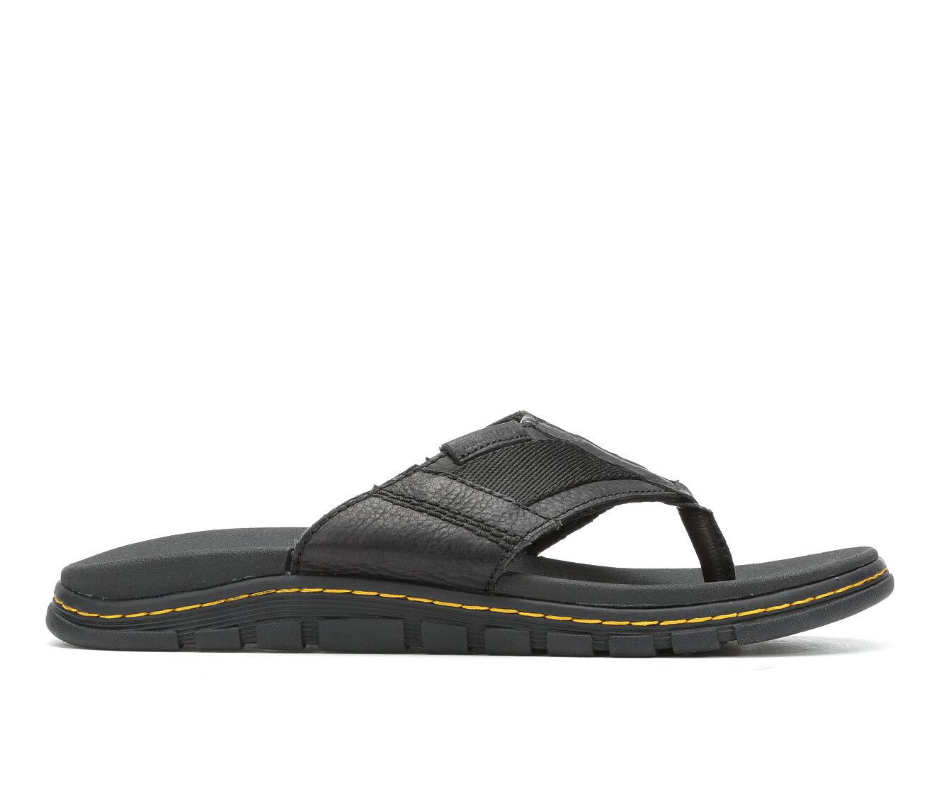 Men's Dr. Martens Athens Thong Flip-Flops Black