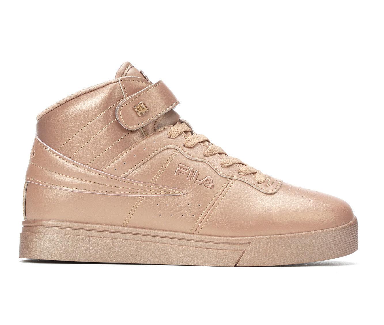 Women's Fila Vulc 13 MP Metallic Stars Basketball Shoes Pink