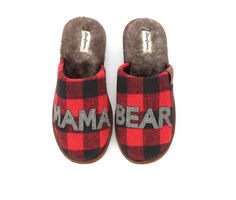 Dearfoams Mama Bear Scuff Slippers