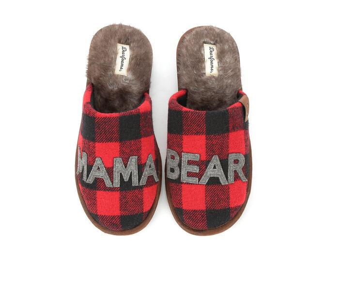 Dearfoams Mama Bear Scuff Slippers