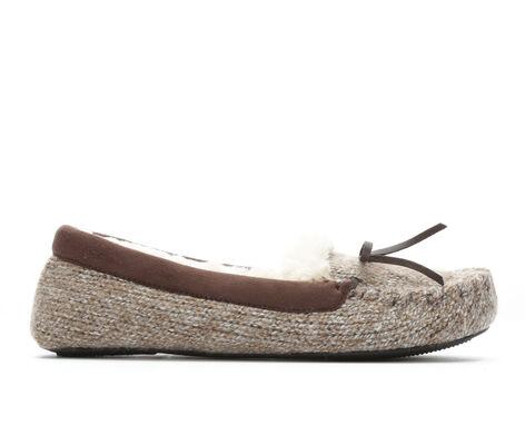 Women's Dearfoams Marled Knit Moc