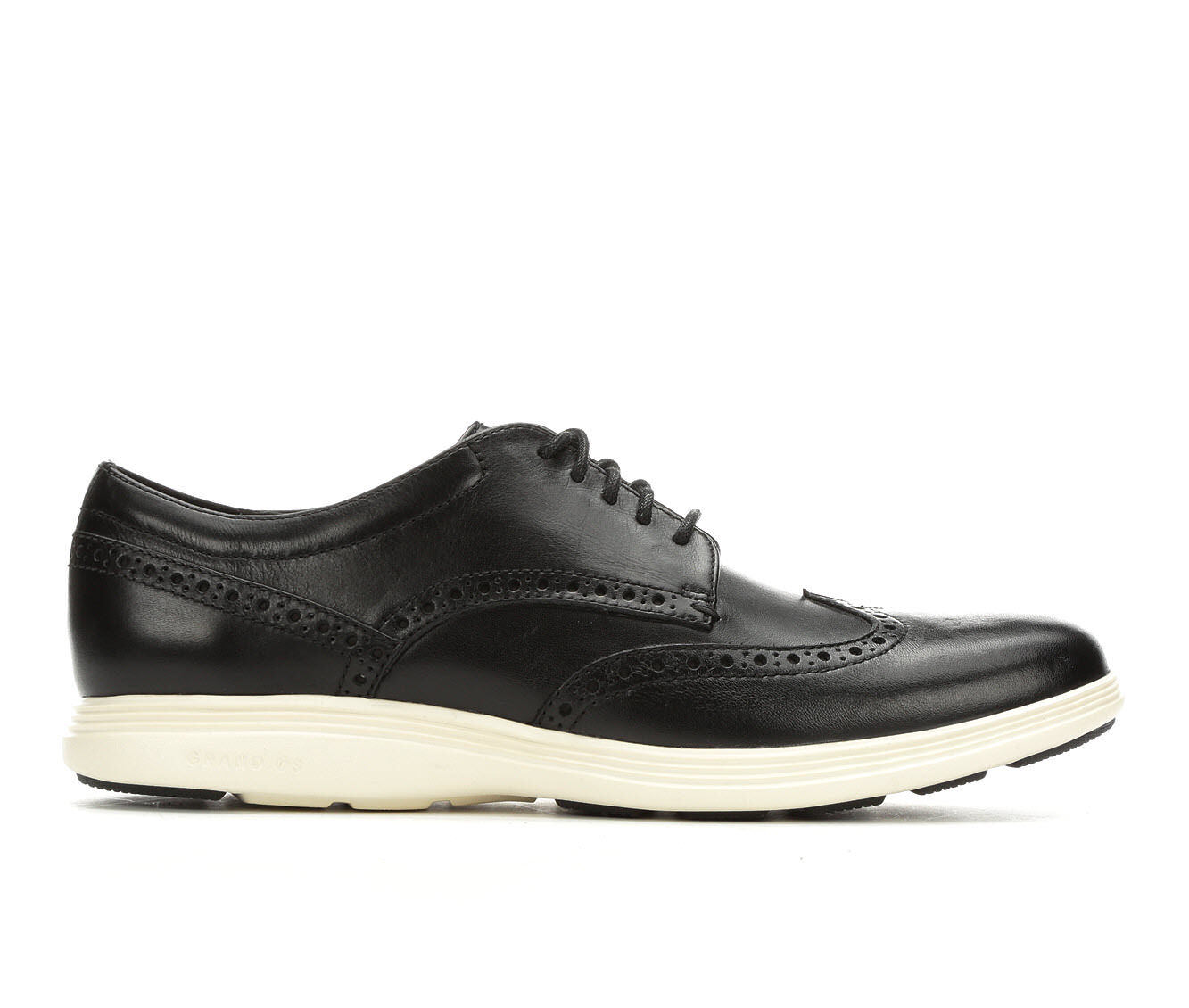 Men's Cole Haan Grand Tour Wing Tip Oxford Dress Shoes Black