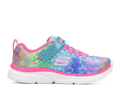 Girls' Skechers Little Kid & Big Kid Wavy Lites Slip-On Sneakers
