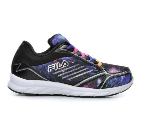 Girls' Fila Tempura 2 10.5-7 Girls Running Shoes