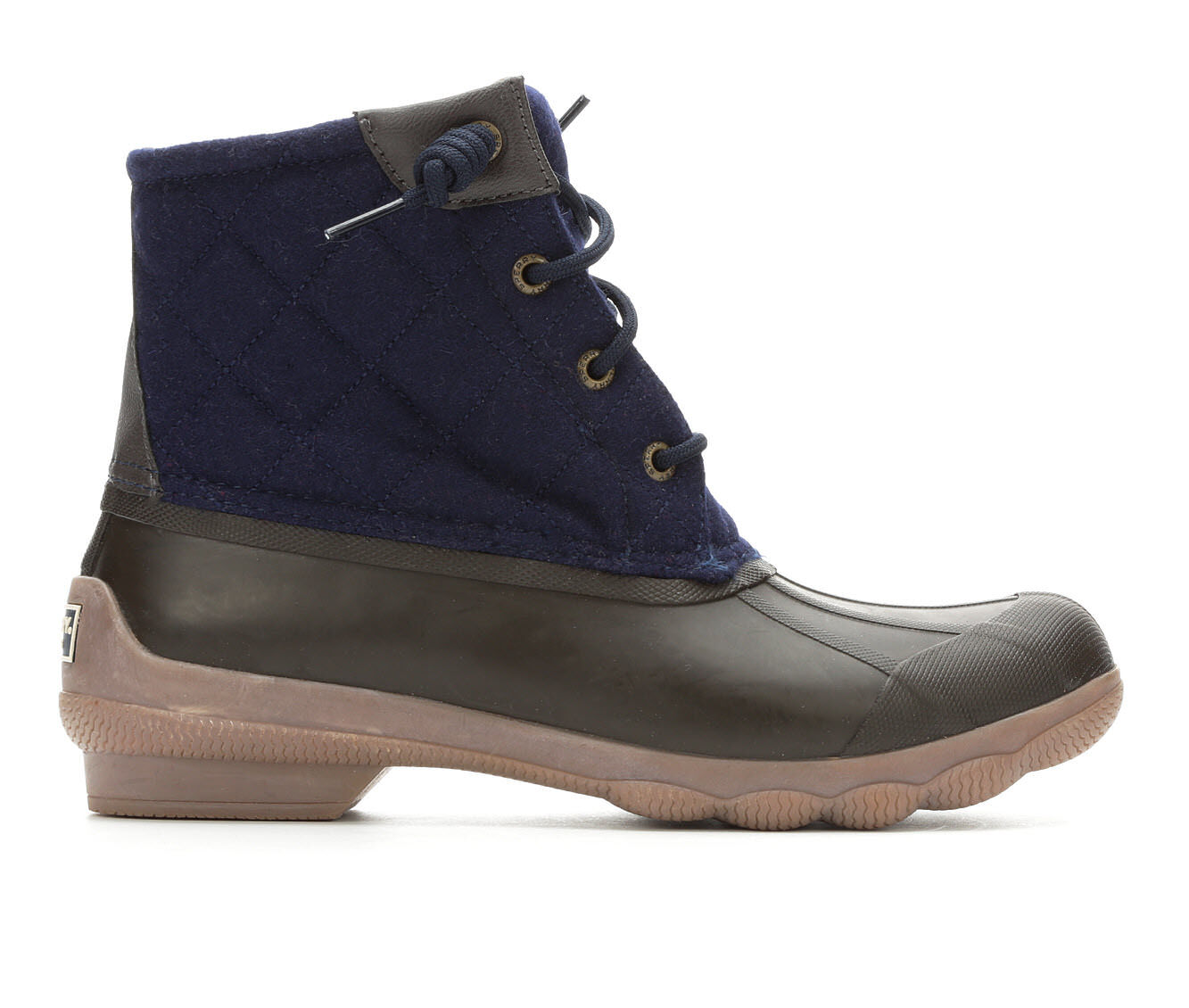 Emergency cheap Women's Sperry Syren Gulf Wool Duck Boots Navy