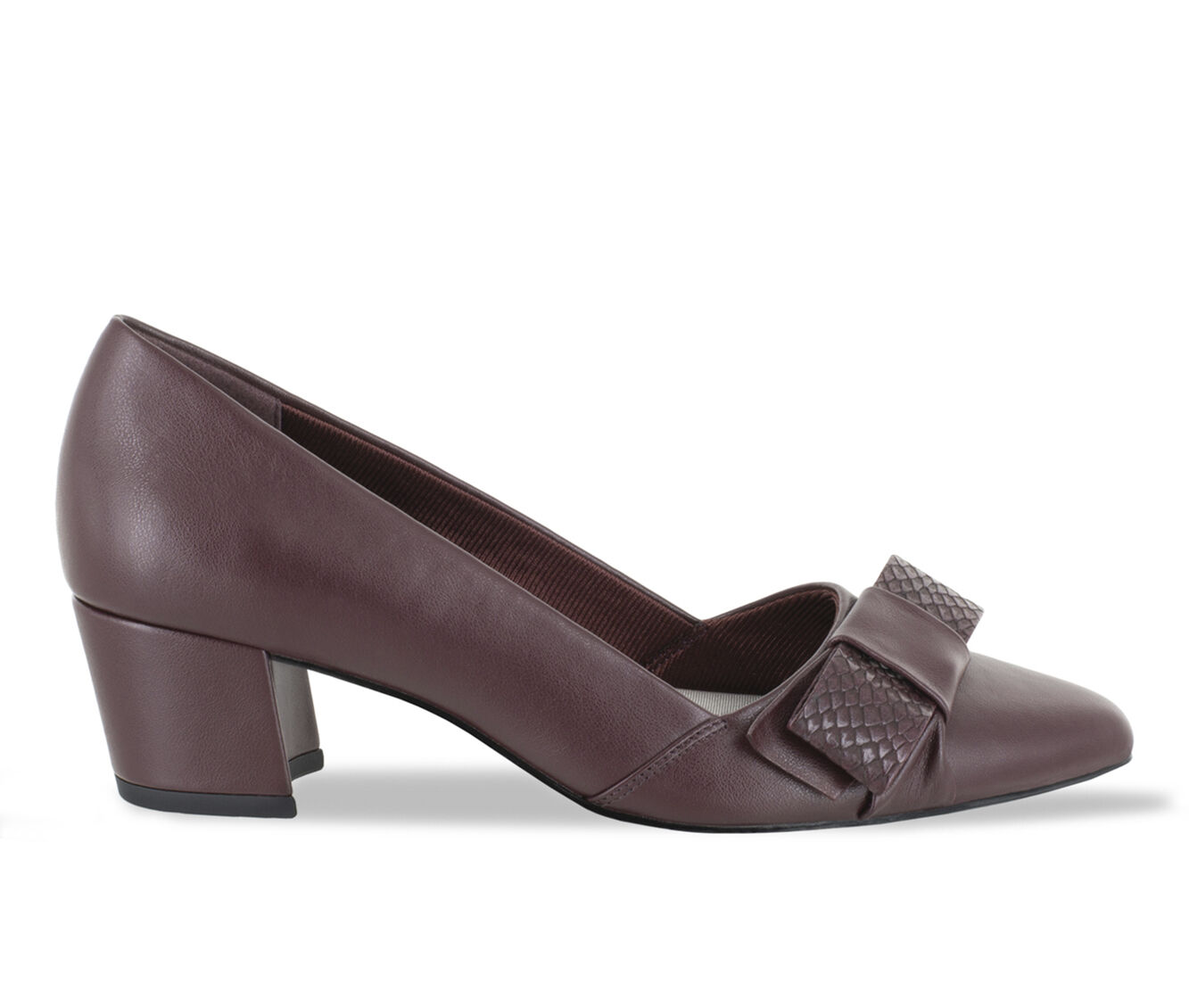Fashionable Women's Easy Street Triana Shoes Burgundy