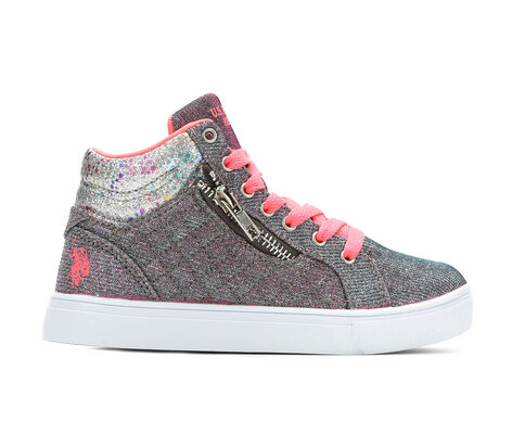 Girls' US Polo Assn Marcia High-Top Sneakers