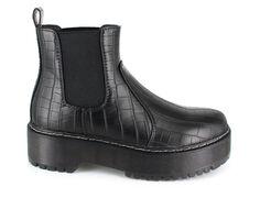 Women's Unionbay Kelli Flatform Chelsea Boots