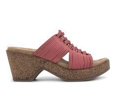 Women's White Mountain Crete Platform Heeled Sandals