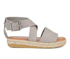 Women's Journee Collection Trinity Flatform Sandals