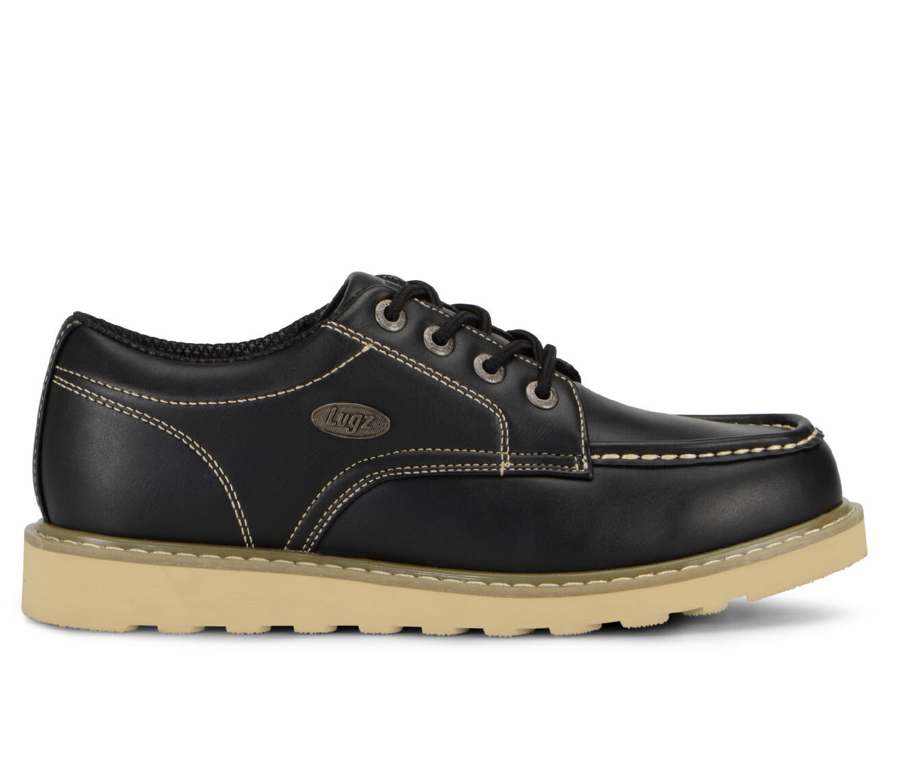 Men's Lugz Roamer Low Boots Black/Gum/Cream