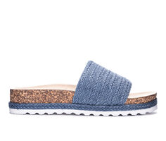 Women's Dirty Laundry Diamonds Footbed Slide Sandals