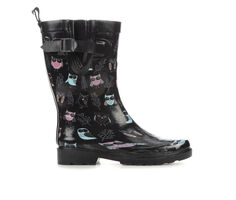 Women's Capelli New York Branches & Owls Mid Rain Boots