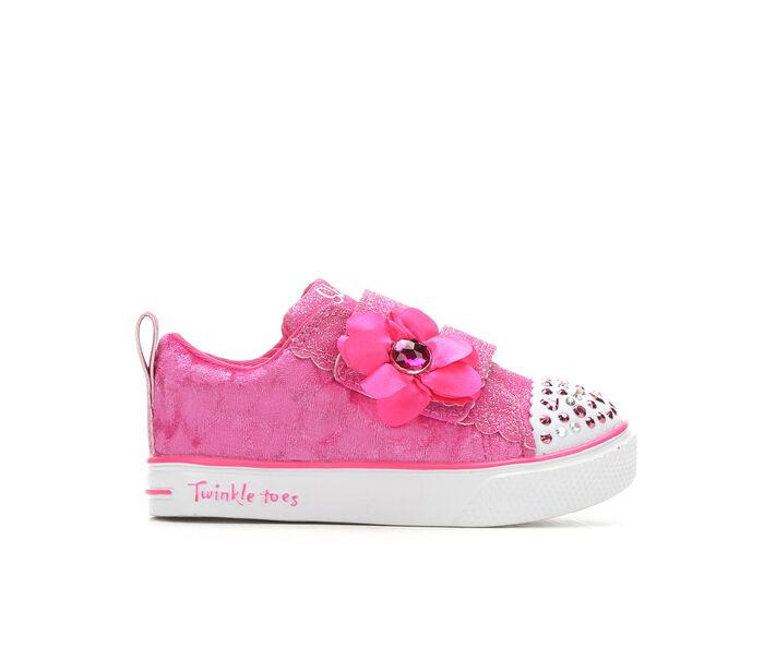 Girls' Skechers Toddler Velvet Cutie Twinkle Toes Light-Up Sneakers