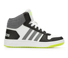 Boys' Adidas Hoops Mid 2 10.5-7 High Top Basketball Shoes