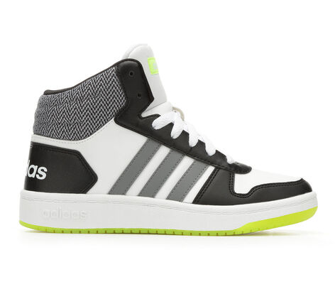 Boys' Adidas Hoops Mid 2 10.5-7 Sneakers