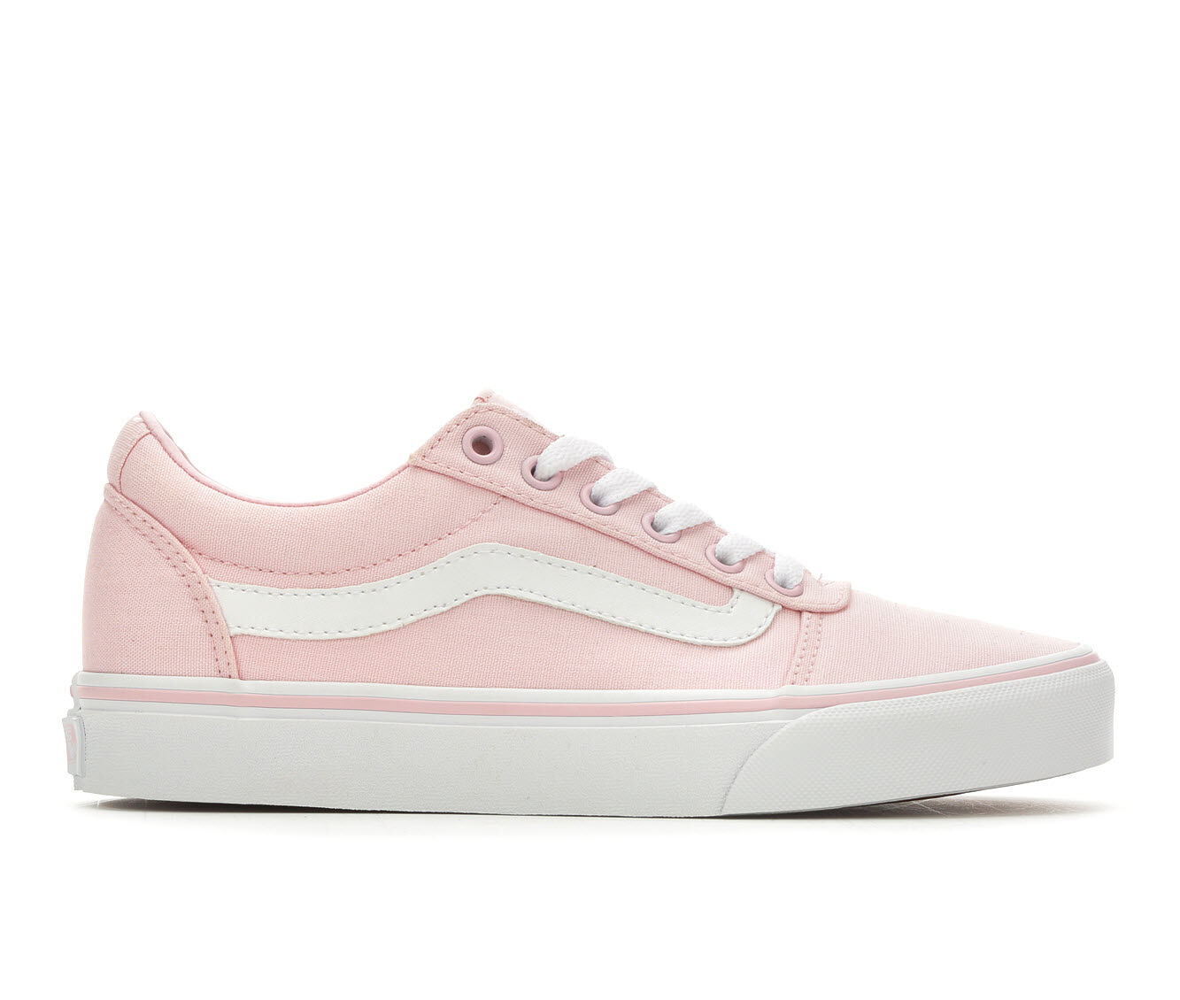 Women's Vans Ward Skate Shoes Chalk Pink/Wht