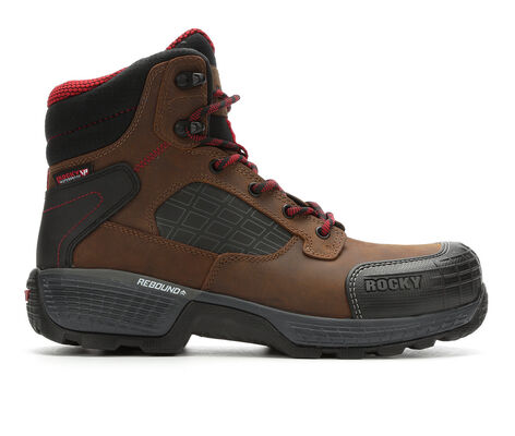 Men's Rocky TreadFlex 6 In Composite Toe Work Boots