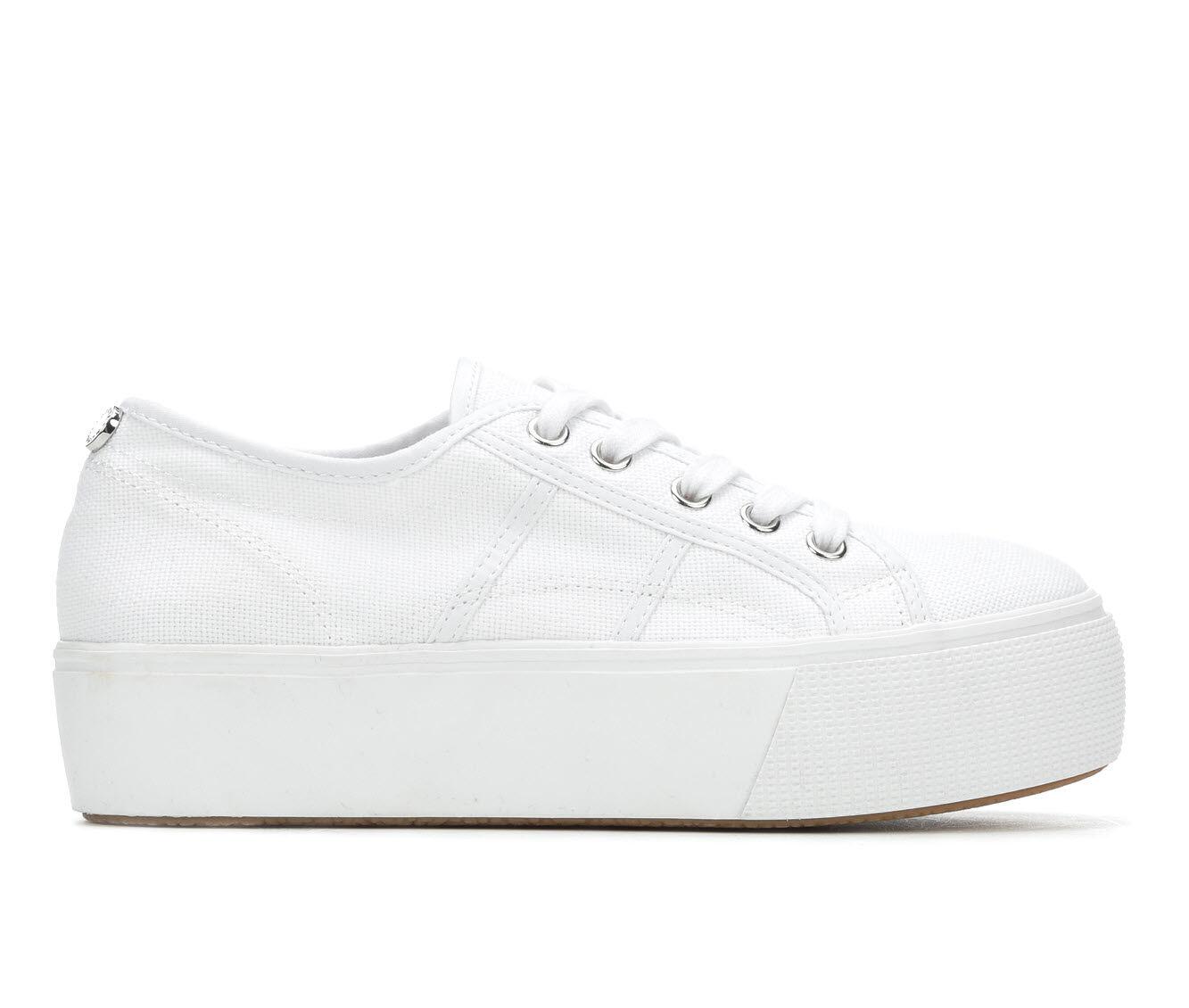 Women's Steve Madden Emmi Flatform Sneakers White